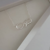 sterling silver infinity necklace online shop in south africa