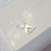 Sterling silver mother and daughter necklace set online