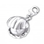 Sterling Silver Pearl Oyster dangle charm online store in SA