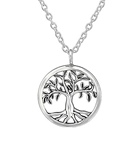 C1141-C37901 - 925 Sterling Silver Tree Necklace