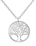 C312-C30875 - 925 Sterling Silver Tree of life Necklace