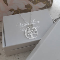 Sterling Silver tree necklace online jewellery store South Africa
