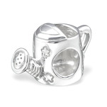 C425-C22695 - 925 Sterling Silver Watering Can European Charm Bead