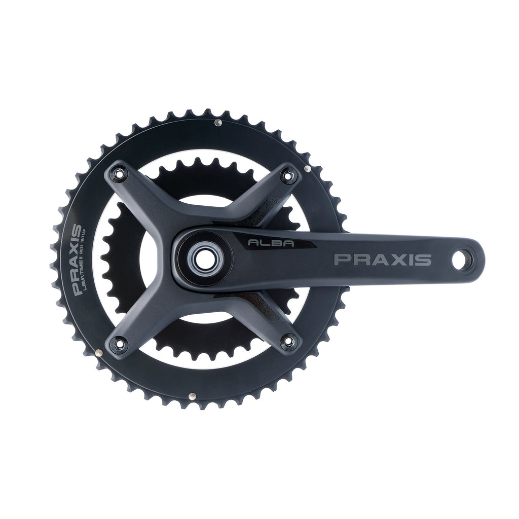 Praxis Alba X Road Cranks (with CERAMIC M30 Bottom Bracket)