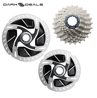 Dark Deal: Shimano Cassette + Disc Rotor Bundles