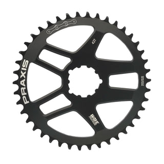 Praxis Chainring - DM 3-Bolt Road Wave Tech