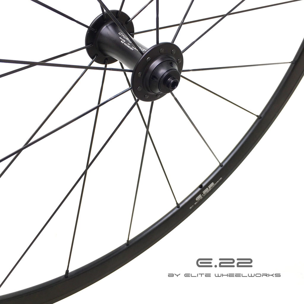 E.22 by Elite Wheelworks | X3 - Chris King