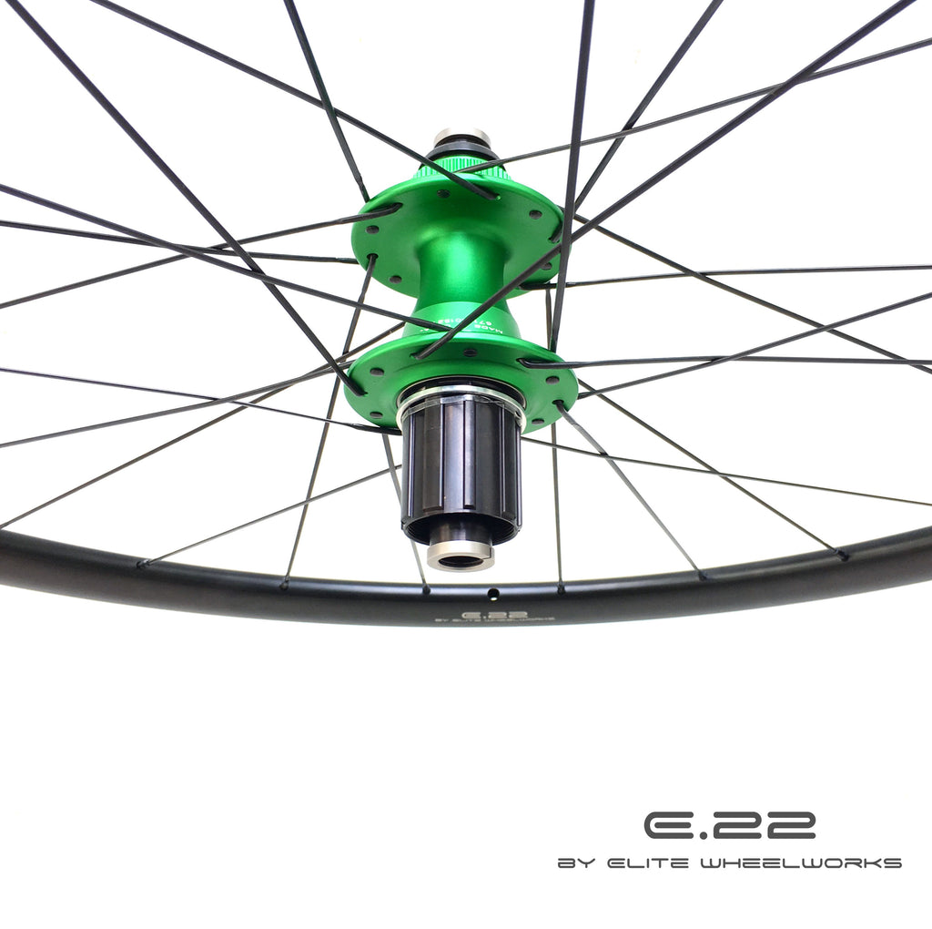 E.22 by Elite Wheelworks | AGN - T3 DISC - Chris King