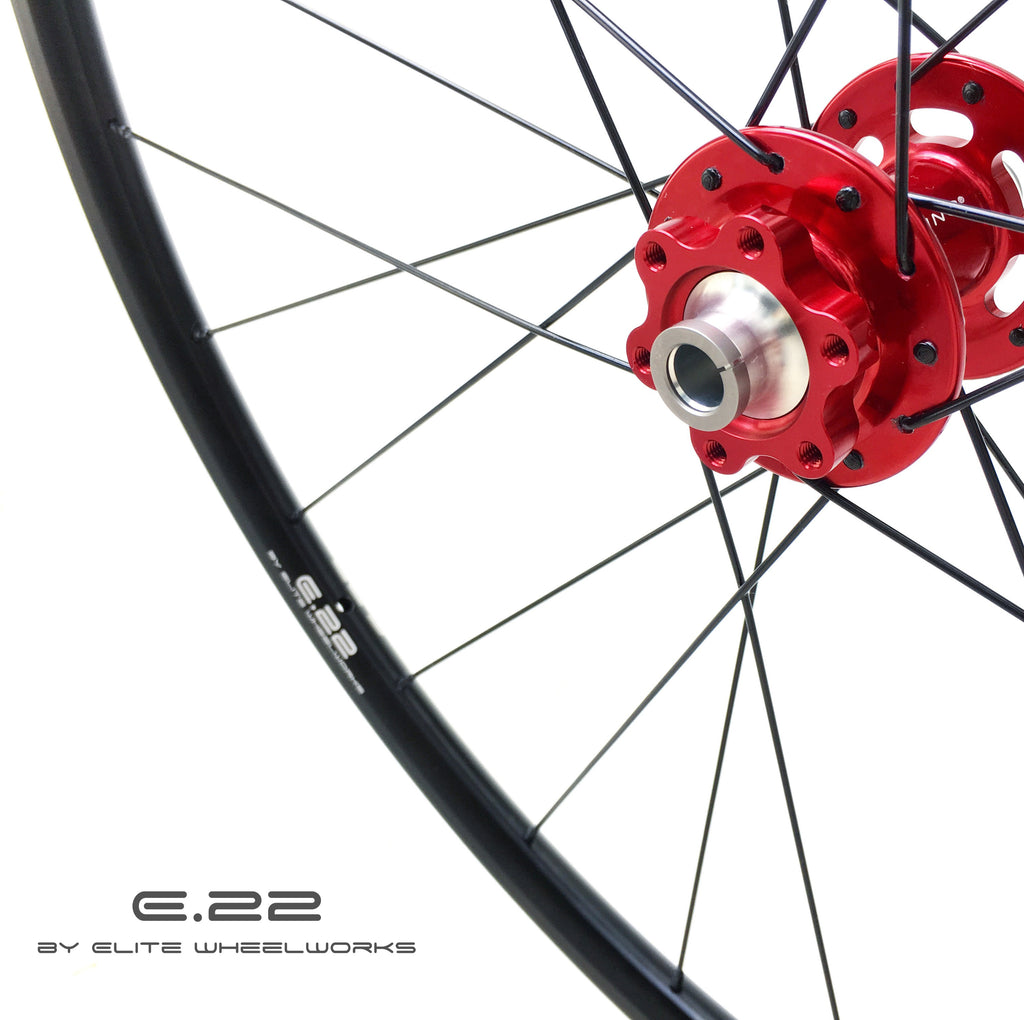 E.22 by Elite Wheelworks | AGN - T2 DISC - Chris King