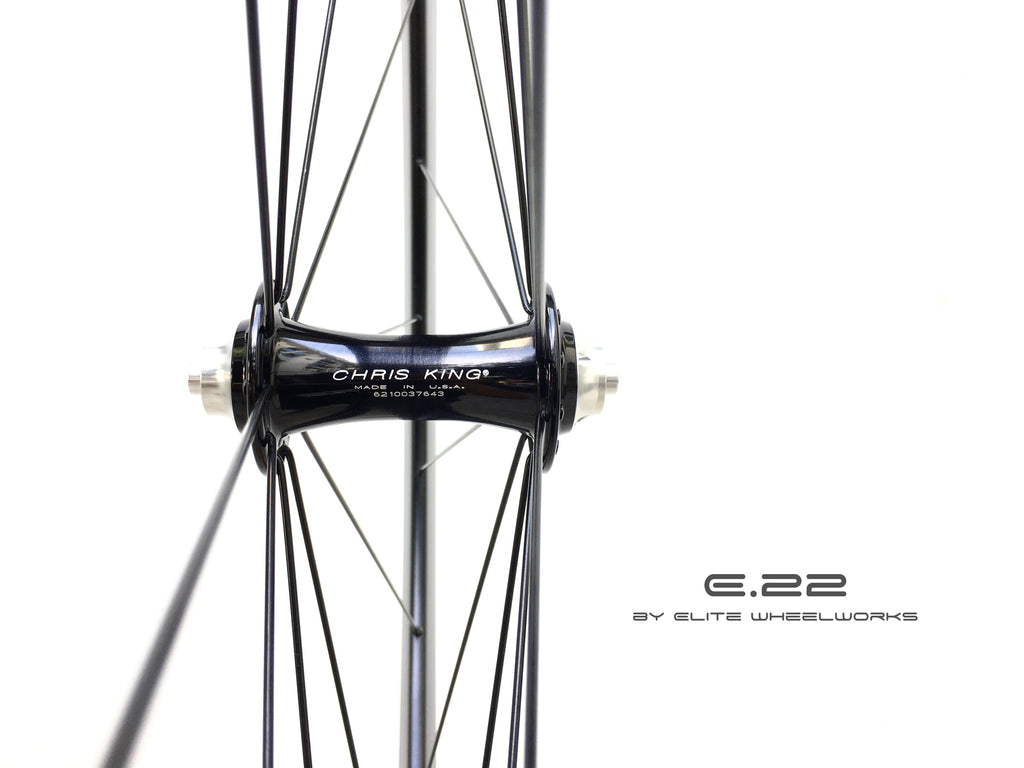 E.22 by Elite Wheelworks | X4 - Chris King