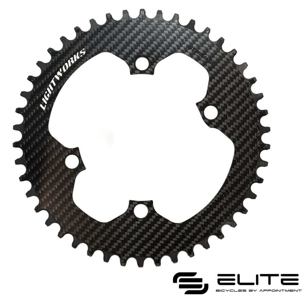 Lightworks Ultralight 1X Carbon Chainring (4-Arm DA9100) - Version II