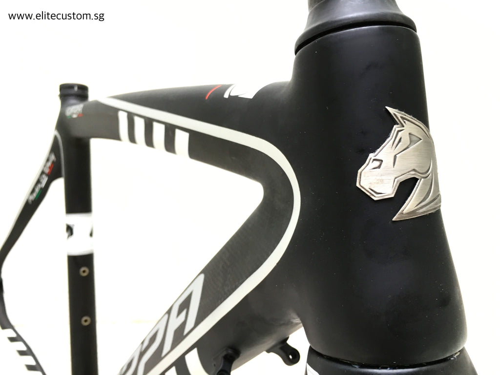 Dark Deal: Scappa Giara (Black) Frameset