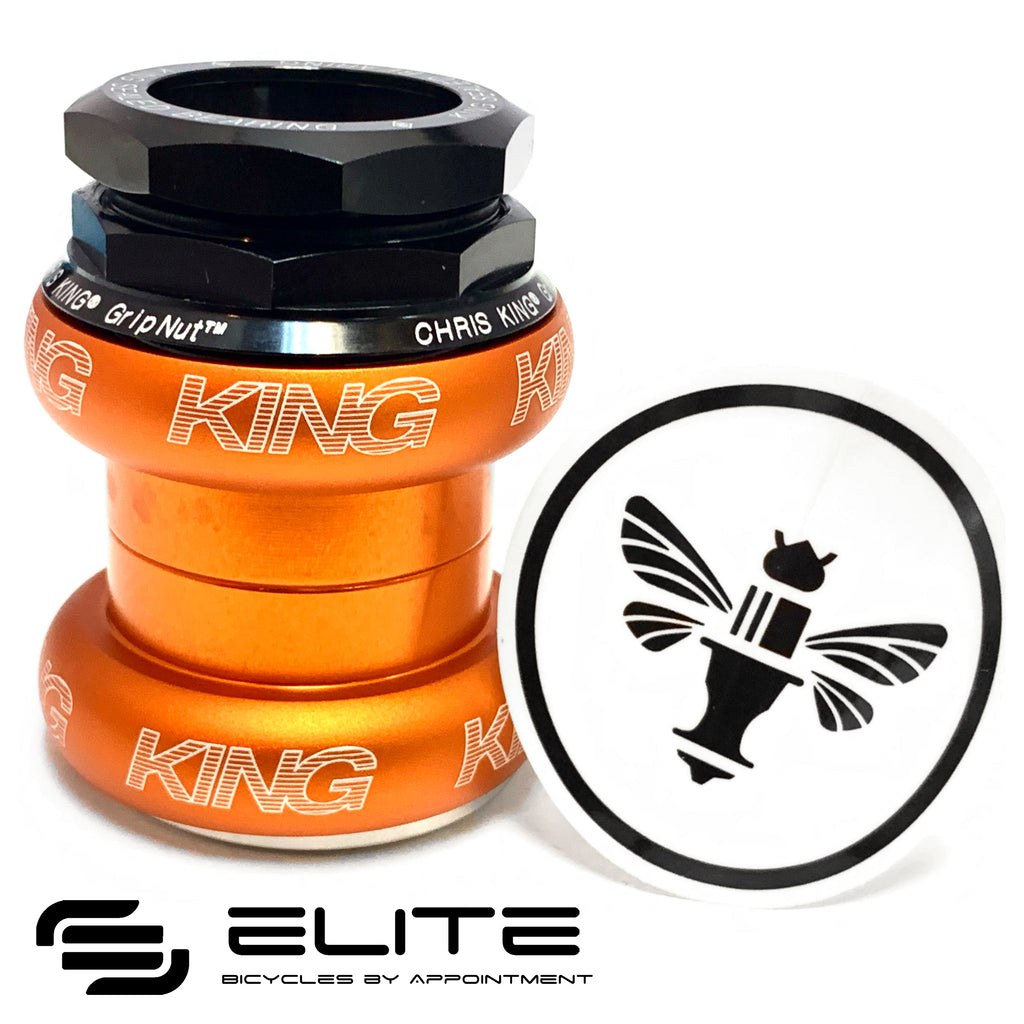 Chris King® GripNut Headset 1-1/8 inch (Headset for Brompton)