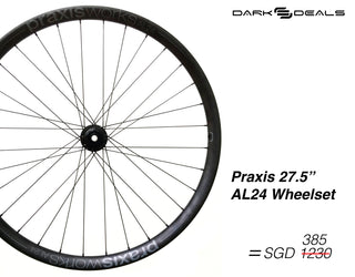 Dark Deal: Praxis AL24 MOUNTAIN WHEELS