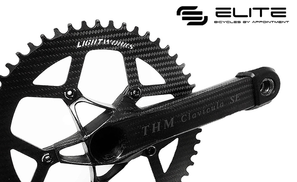Lightworks Ultralight 1X Carbon Chainring (5-Arm) - Version II