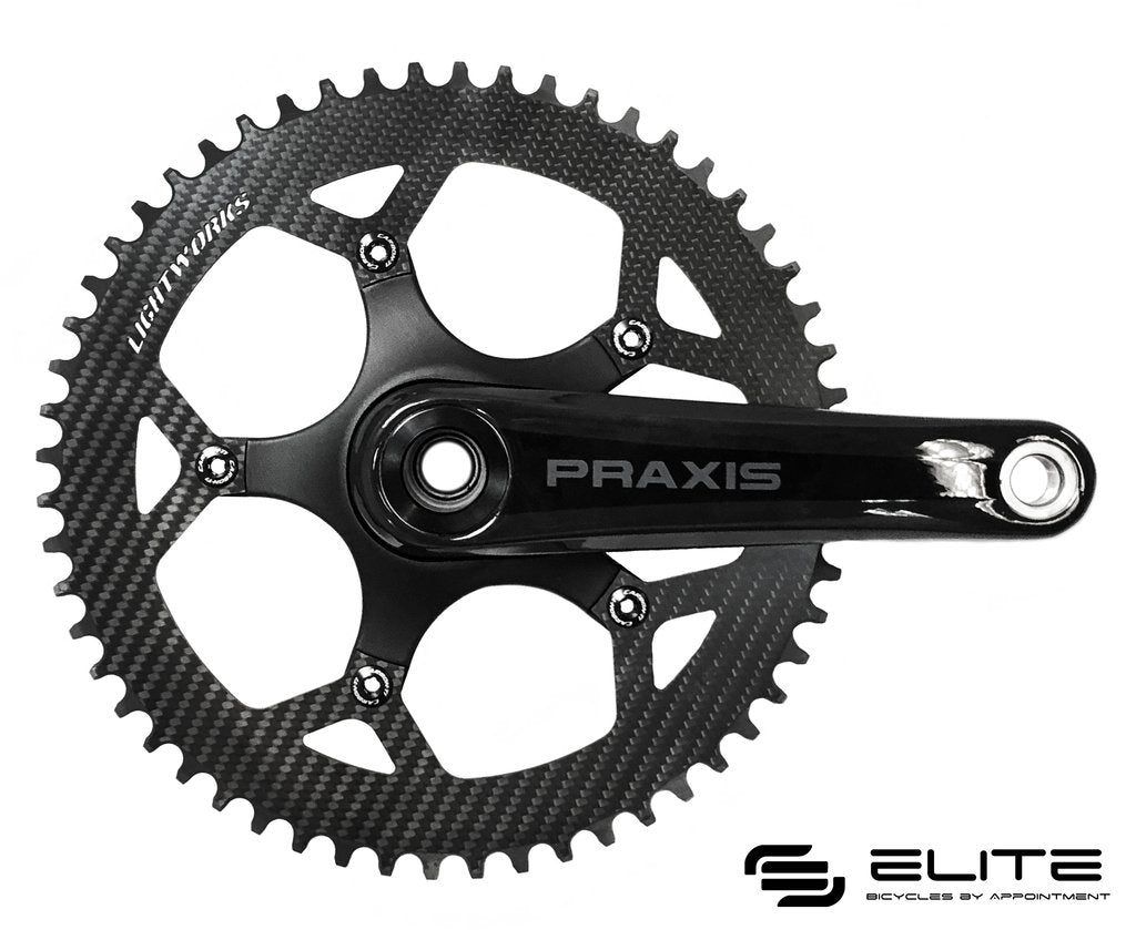 Carbon-Ti Chainring Bolts XS (Road kit for single ring setups)