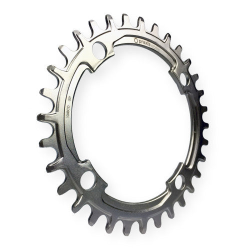Dark Deal: Praxis Chainring - 32T Steel WIDE/NARROW - 104BCD