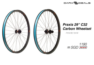 Dark Deal: Praxis C32 MOUNTAIN WHEELS