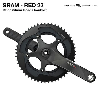 Dark Deal: SRAM Red 22 BB30 Road - Crank