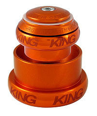 Chris King® Tapered 34/49mm NoThreadSet™ GripLock™ Headset 1-1/8 to 1.5 inch - Sotto Voce