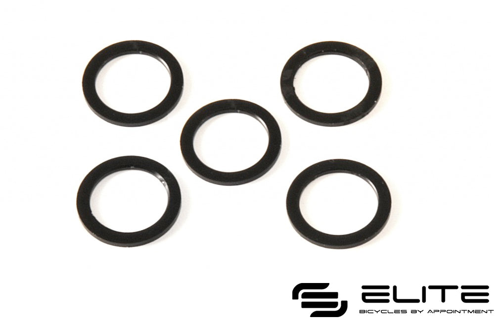 Carbon-Ti Chainring Bolts Washers