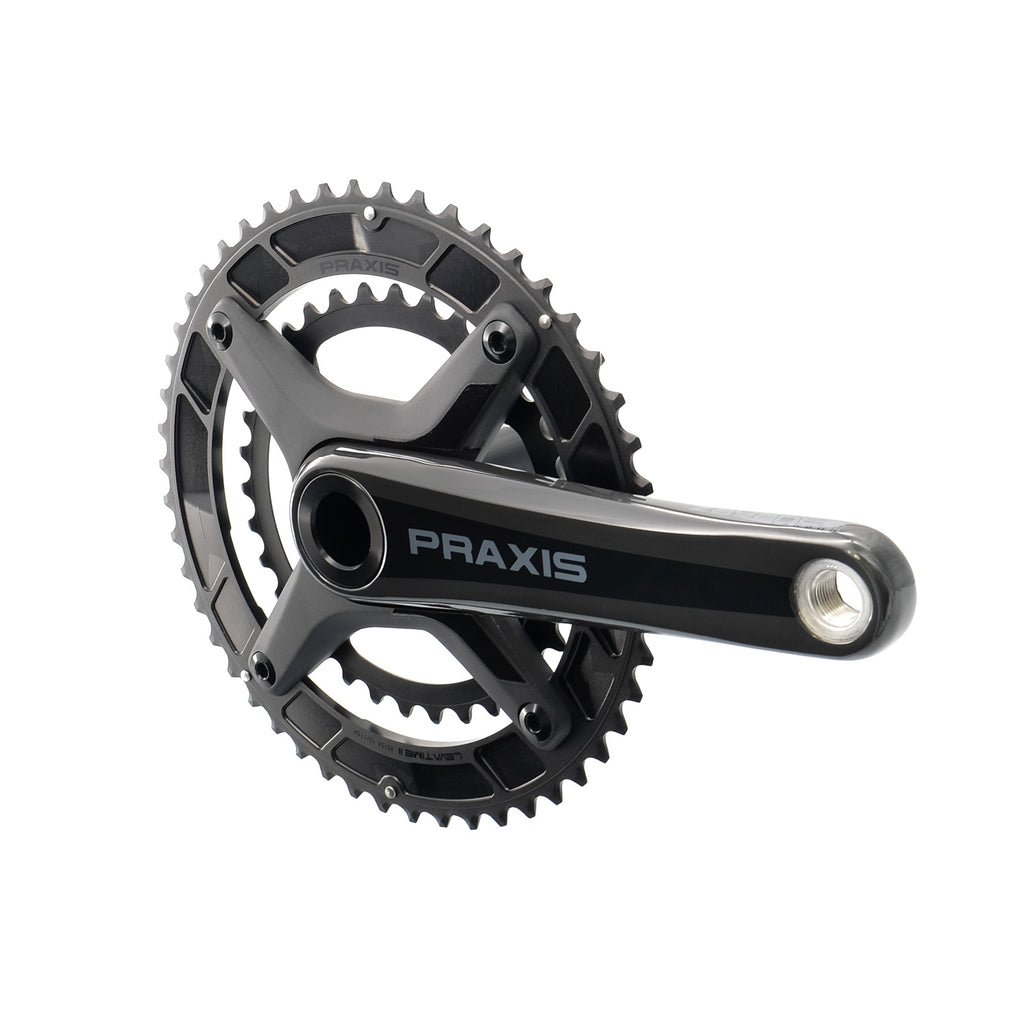 Praxis Zayante Carbon LT2 Road Cranks (with M30 Bottom Bracket)