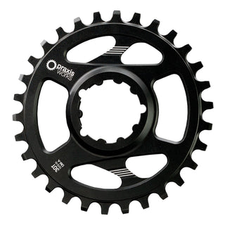 Praxis Chainring - Direct Mount – 3 Bolt Interface - WAVE