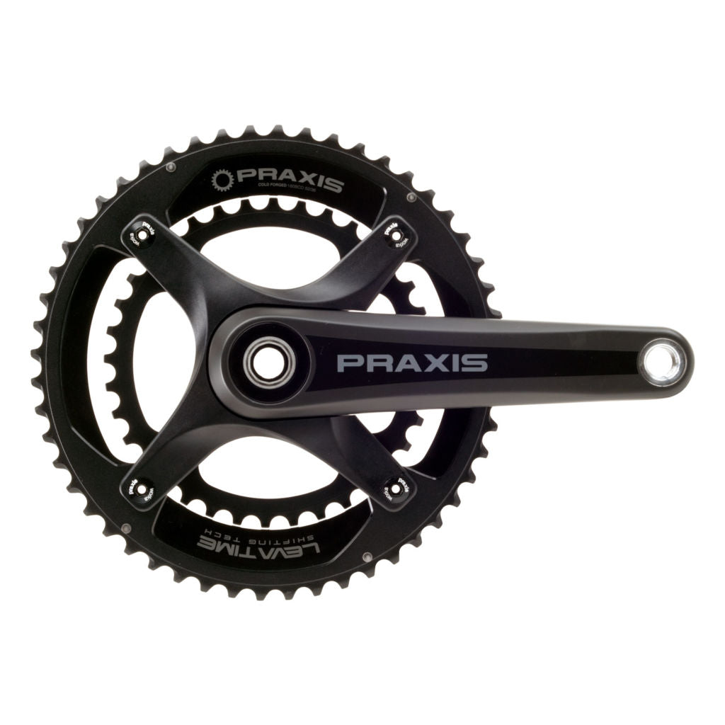 Dark Deal: Praxis M30 Zayante X Carbon Road Cranks