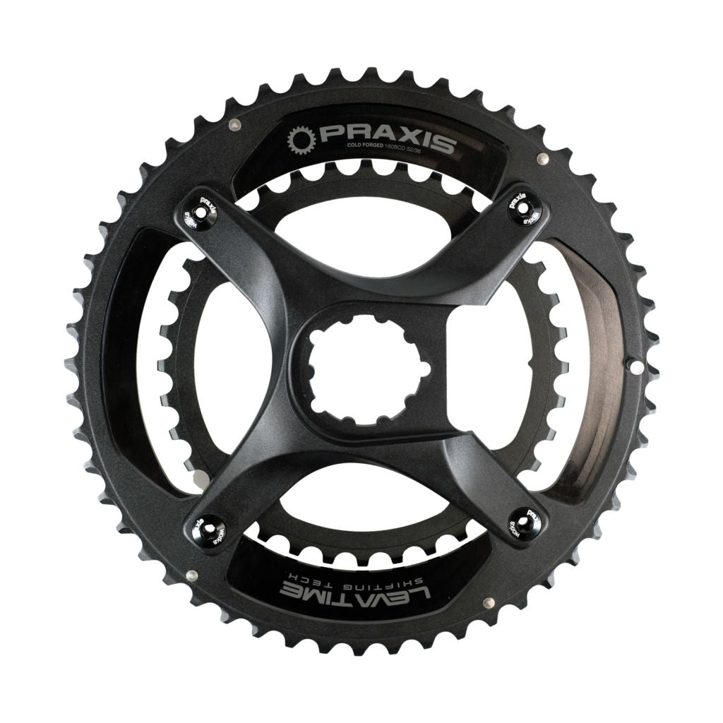 Dark Deal: Praxis Zayante Carbon LT1 Road Cranks (with M30 Bottom Bracket)