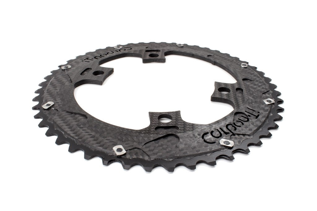 Carbon-Ti Chainring DA9100 (4 Arm, 110BCD)