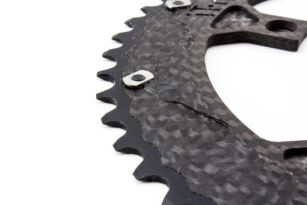 Carbon-Ti Chainring (5 Arm, 110BCD)