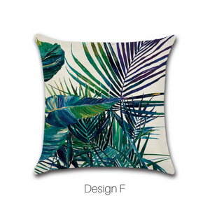 Homlly Hanalei Tropical Cushion Cover - Homlly