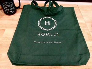 Homlly Canvas Tote Bag