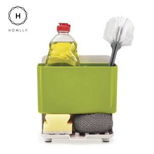 Homlly Liquid Soap Brush Holder