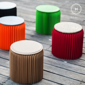Homlly Eco Paper Stool