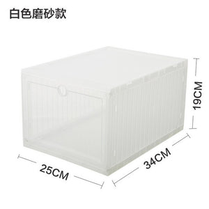 Homlly Expandable Foldable Stackable Storage PP Box Container (1+1) - Homlly
