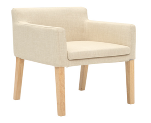 Flen Ash Wood Chair - Homlly