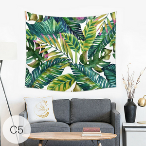 Tropical Tapestry Wall Hanging Throw Cloth