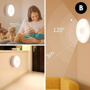 Homlly Rechargeable Motion Sensor Light
