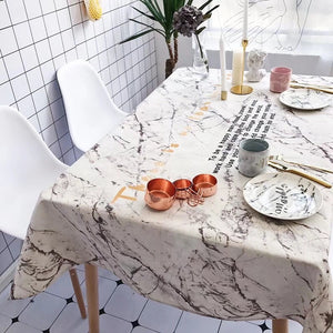 Homlly Marbi Table Cover Cloth - Homlly