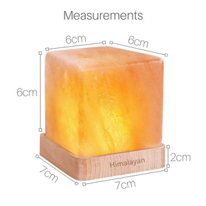 LED Himalayan Salt Cube Lamp