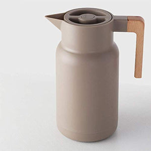 Homlly Thermal Insulated Double Walled Carafe Flask (1L)