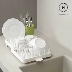 Expandable Dish Drainer Rack - Homlly