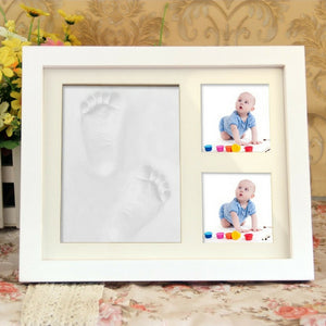 Junior Baby Hand & Foot Casting Print Photo Frame