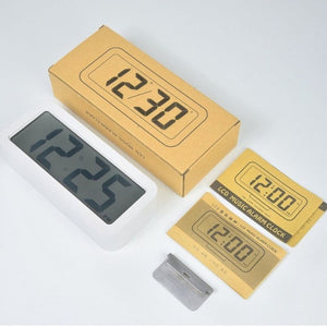 Homlly Basii Large Digit LED Alarm Clock