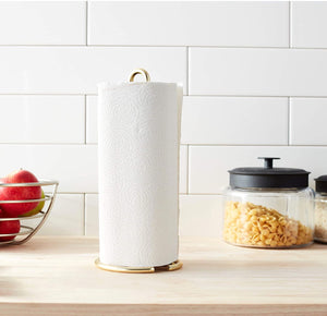 Homlly Keii Gold Kitchen Paper Roller Holder
