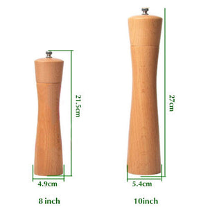 Homlly Salt Pepper Grinder Wood Shaker - Homlly