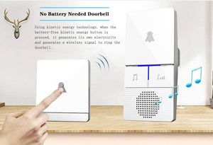 Homlly Self-Powered Wireless Home Doorbell