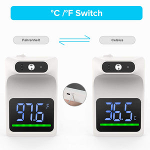 Homlly Wall Mounted Non Contact Digital Temperature Thermometer
