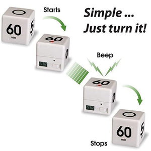 Homlly Magic Timer Cube Minutes Reminder